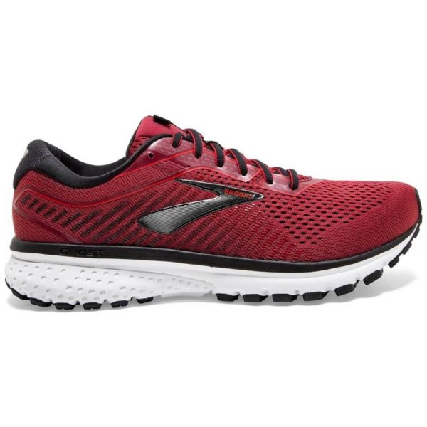 Brooks Ghost 12 Uomo bordeaux