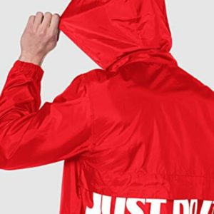 KWAY NIKE ROSSO
