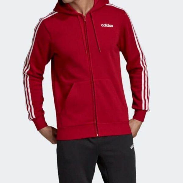 Adidas Felpa Uomo 3-Stripes