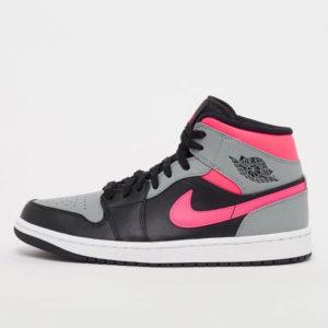 AIR JORDAN 1 MID grigio e rosa