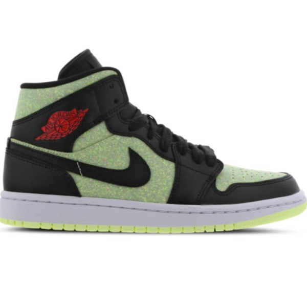 Air Jordan 1 MID SE green