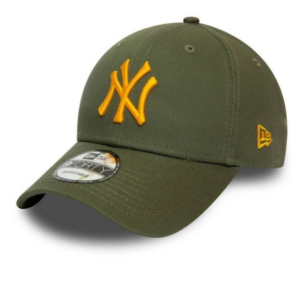 New Era Cap 9Forty Adjustable verde-giallo